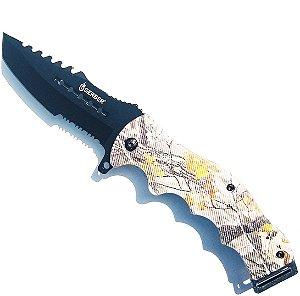 Canivete Tático quebra Vidro Camaleão
