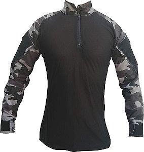 Combat Shirt Camuflada Choque RipStop + DryFit