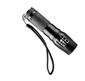 Lanterna Tática X900 Recarregável + Acessórios