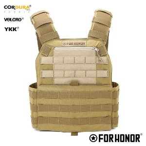 Colete Plate Carrier For Honor TAN / Desert