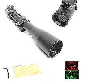 Luneta Sniper 3x9x40 EG Retículo Iluminado trilho 11mm/22mm