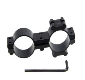 Suporte para Lanterna / Luneta com Trilho Auxiliar 11mm Modelo 8