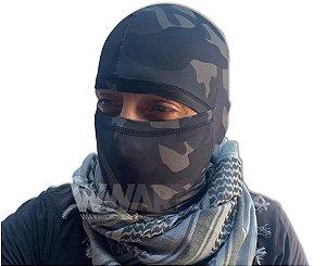 Balaclava Tática Militar SMILE Proteção UV+ Multicam BLACK