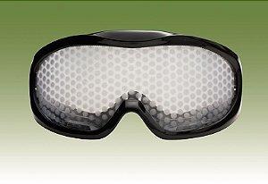 Óculos Simulador de Efeitos de Drogas (Cannabis)  - (Maconha)- Cinta Verde Oliva