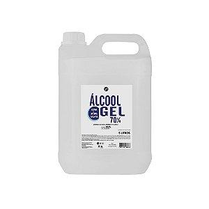 Álcool em Gel Antisséptico Carbopol 70% - 5L - Light Hair