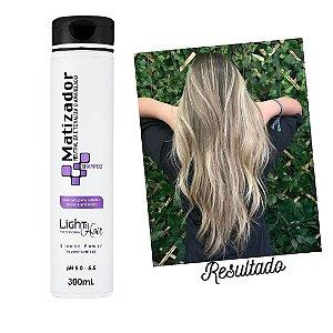 Shampoo Matizador Blond Manutenção - 300mL -  Light Hair