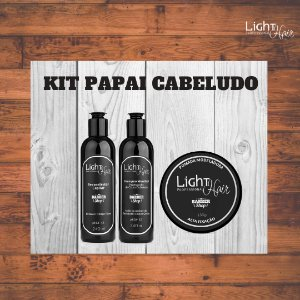 Kit Barber Shop - Pai Cabeludo