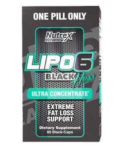 Lipo 6 Black Hers Ultra Concentrado Nutrex