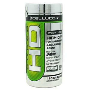 Super HD Cellucor 120 caps