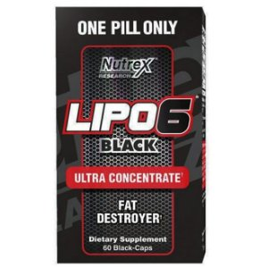 Lipo 6 Black Ultra Concentrate Nutrex 60 Cápsulas