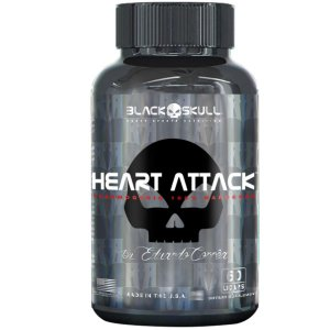 Heart Attack Black Skull 60 Cápsulas
