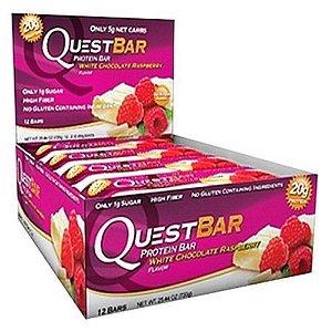 QuestBar Barra de Proteínas Quest Nutrition White Chocolate Raspeberry 12 Unidades