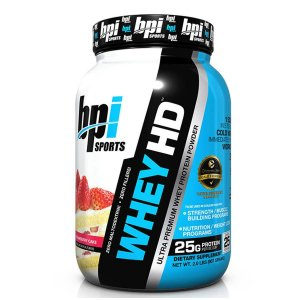 Whey HD BPI Sports Strawberry Cake 907g