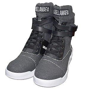 Tênis Sneakers Labellamafia 60190 Café Jeans