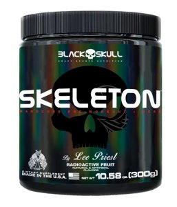 Skeleton Radioactive Fruit Black Skull 300g