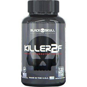 Killer 2F Black Skull 120 Cápsulas