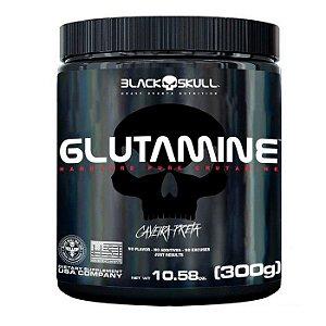 Glutamine Caveira Preta Black Skull 300g
