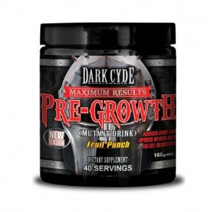 Pre-Growth Dark Cyde Fruit Punch 160g