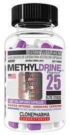 Methyldrine 25 Elite Clone Pharma 60 Cápsulas