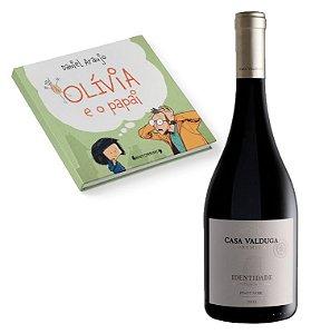 Vinho Casa Valduga Identidade Premium Pinot Noir + Livro Olívia e o Papai