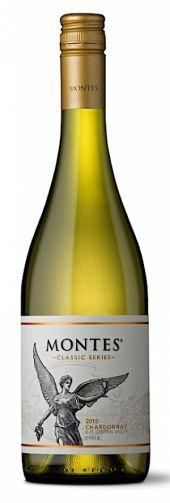 Vinho Branco Chileno Montes Chardonnay Reserva 750 ml