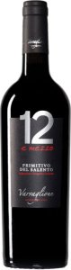 Vinho Tinto Italiano 12 e Mezzo Primitivo del Salento IGP 750 ml