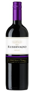 Vinho Tinto Chileno Concha y Toro Reservado Merlot 750 ml
