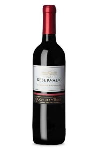Vinho Tinto Chileno Concha y Toro Reservado Cabernet Sauvignon 750 ml