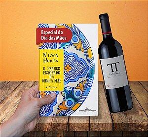 Kit Livro O frango ensopado da minha mãe + Vinho Tantehue Cabernet Sauvignon