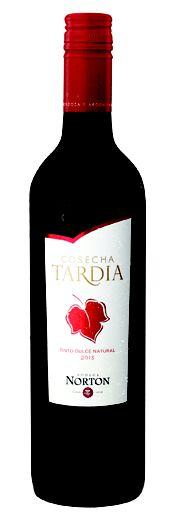 Vinho Argentino Norton Cosecha Tardia Tinto 750 ml