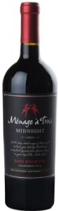 Vinho Tinto Trinchero Ménage à Tróis Midnight 750 ml