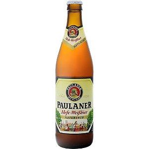 Cerveja Alemã Paulaner Hefe-Weissbier Naturtrüb 500 ml