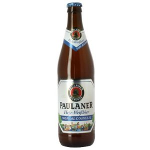 Cerveja Alemã Paulaner Hefe-Weissbier Non Alcoholic 500 ml