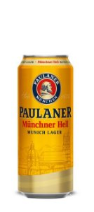 Cerveja Alemã Paulaner Münchner Hell Munich Lager 500 ml