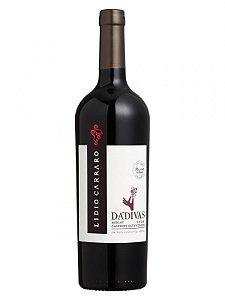 Vinho Tinto Lidio Carraro Da'divas Merlot-Cabernet Sauvignon 750 ml