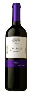Vinho Tinto Chileno Emiliana Merlot 750 ml