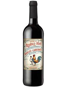 Vinho Tinto Francês Rendez-Vous Merlot-Cabernet IGP 750 ml