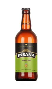 Cerveja Artesanal Insana Weizen 500 ml