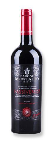Vinho Tinto Italiano Barone Montalto Passivento 750 ml