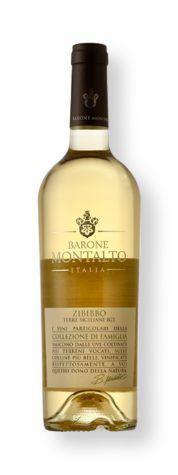 Vinho Branco Barone Montalto Collezione di Famiglia Zibibbo Terre Siciliane IGT 2017 750 mL