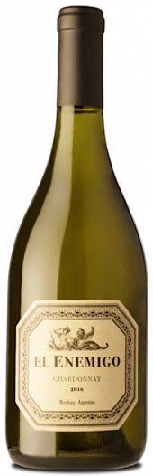 Vinho Branco Argentino El Enemigo Chardonnay 750ml