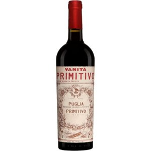 Vinho Tinto Italiano Vanitá Primitivo di Puglia IGP 750 ml