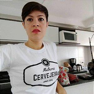 Kit Mulheres Cervejeiras camiseta preta e branca ( CAMISETA)