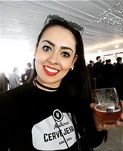 Camiseta Mulheres Cervejeiras Preta
