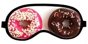 Máscara Para Dormir (tapa Olhos) - Olhos Donuts