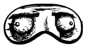 Máscara Para Dormir (tapa Olhos) - Meme