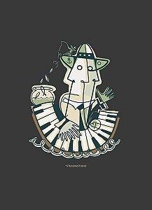 Pôster - Pescador de Emoções - PIANO