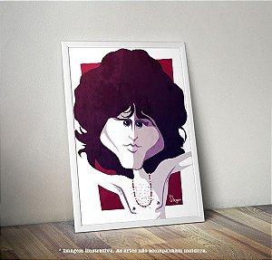 Pôster Caricatura Jim Morrison (The Doors)