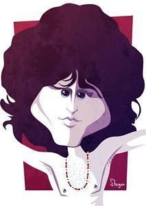 Pôster Caricatura Jim Morrison (The Doors)