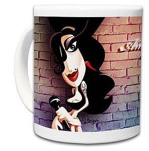 Caneca Caricatura Amy Winehouse